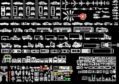 Tổng hợp bản vẽ autocad mẫu
