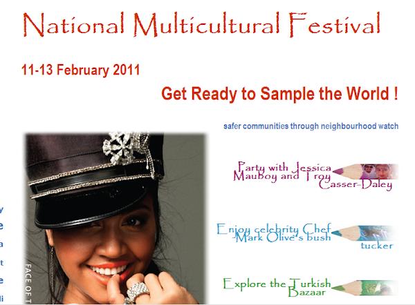 multicultural festival bush