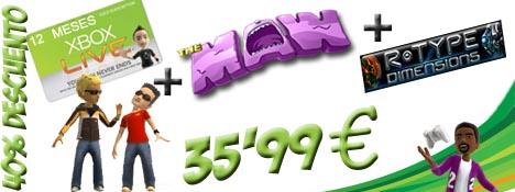 descuento%20live%20gold Xbox Live Gold al 40% y 2 juegos gratis
