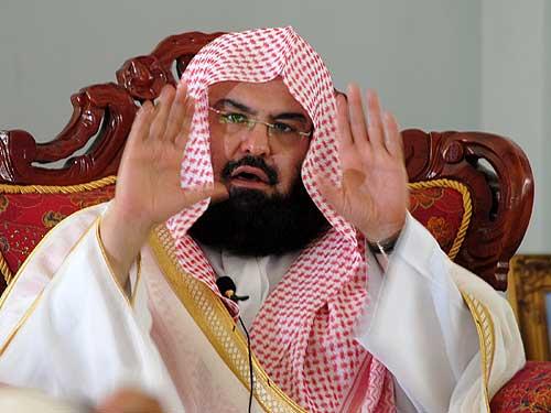 Risultati immagini per Abdurrahman ibn Abdulaziz as-Sudais