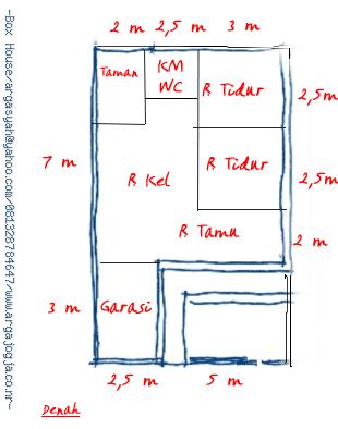 Rumah Minimalis Type 90 Bata Ekspos