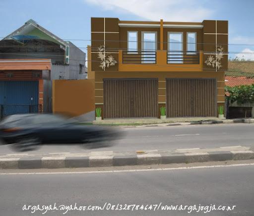 Posts related to Desain Eksterior Fasad Ruko Minimalist 2 Lantai