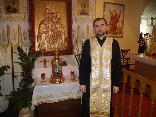 Мощи святого Пантелеймона (Одесса) и отец Игорь Тарас