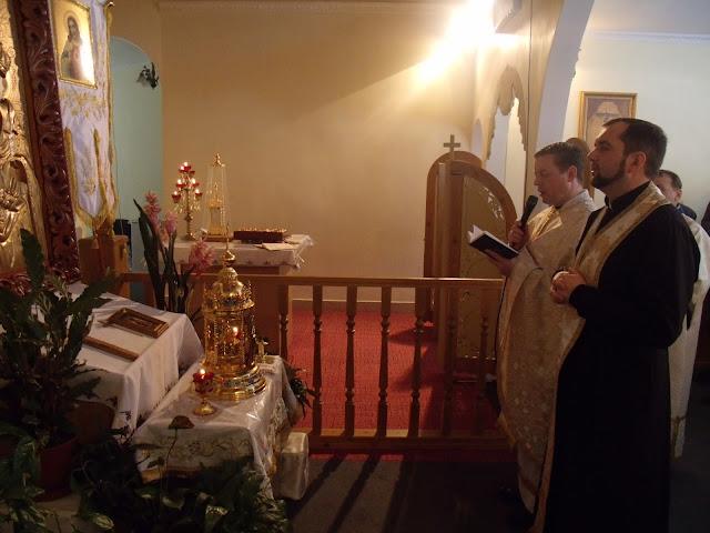 Мощи святого Пантелеймона (Одесса) - молебен