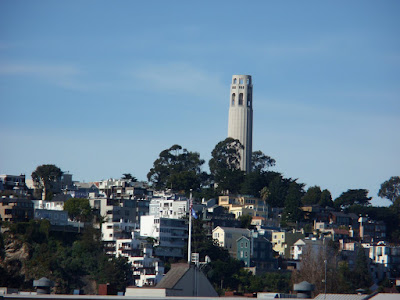 Coit Tower and Telegraph Hill from the Bay