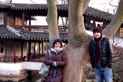 In Suzhou water town near Shanghai