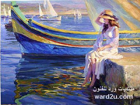 لوحات فلاديمير من الطفوله الى الامومه