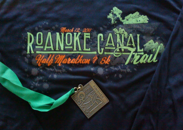 Roanoke Canal race swag