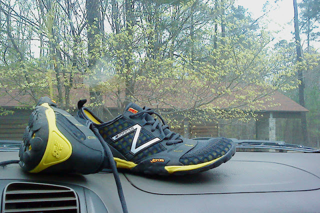 New Balance Minimus Trail - on the dash