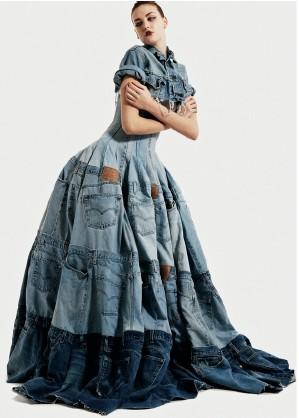Gary Harvey Denim Dress