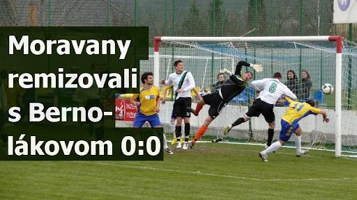 Moravany remizovali s Bernolákovom 0:0