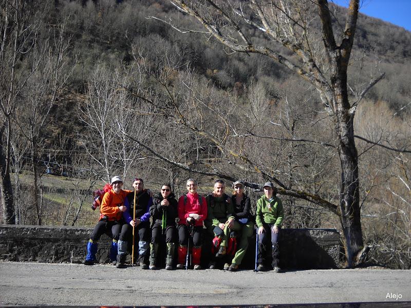 Foto de grupo en Rioscuro
