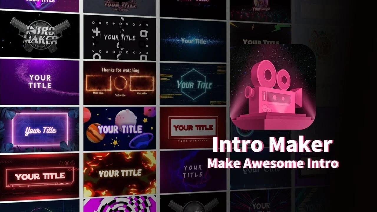 Intro Maker được biết đến là một trình chỉnh sửa, sáng tạo Intro video miễn phí