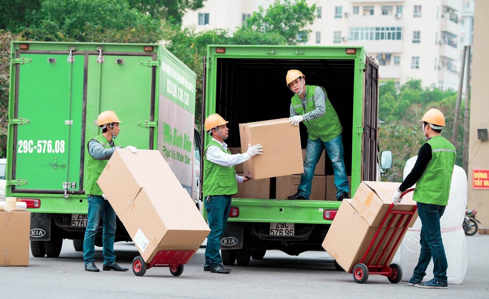 Nhận bốc xếp hàng hóa chọn gói