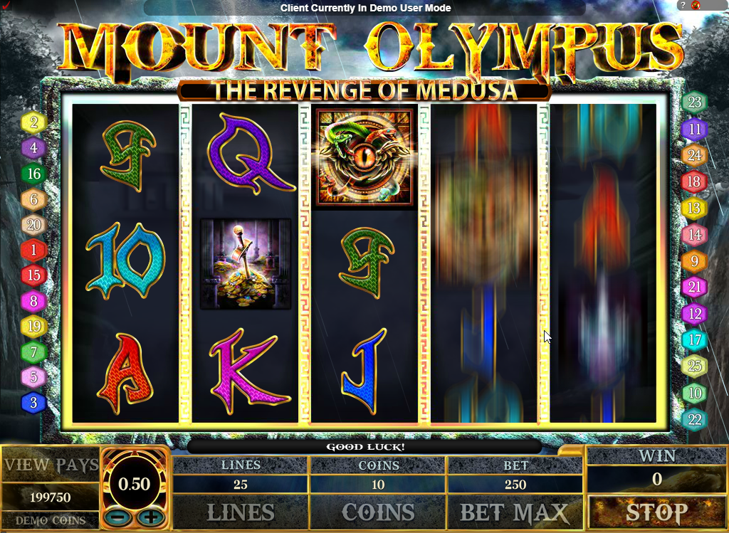 Mount Olympus Slots Game Review