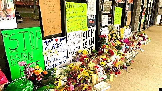 Tưởng niệm nạn nhân bị thảm sát tại Georgia.