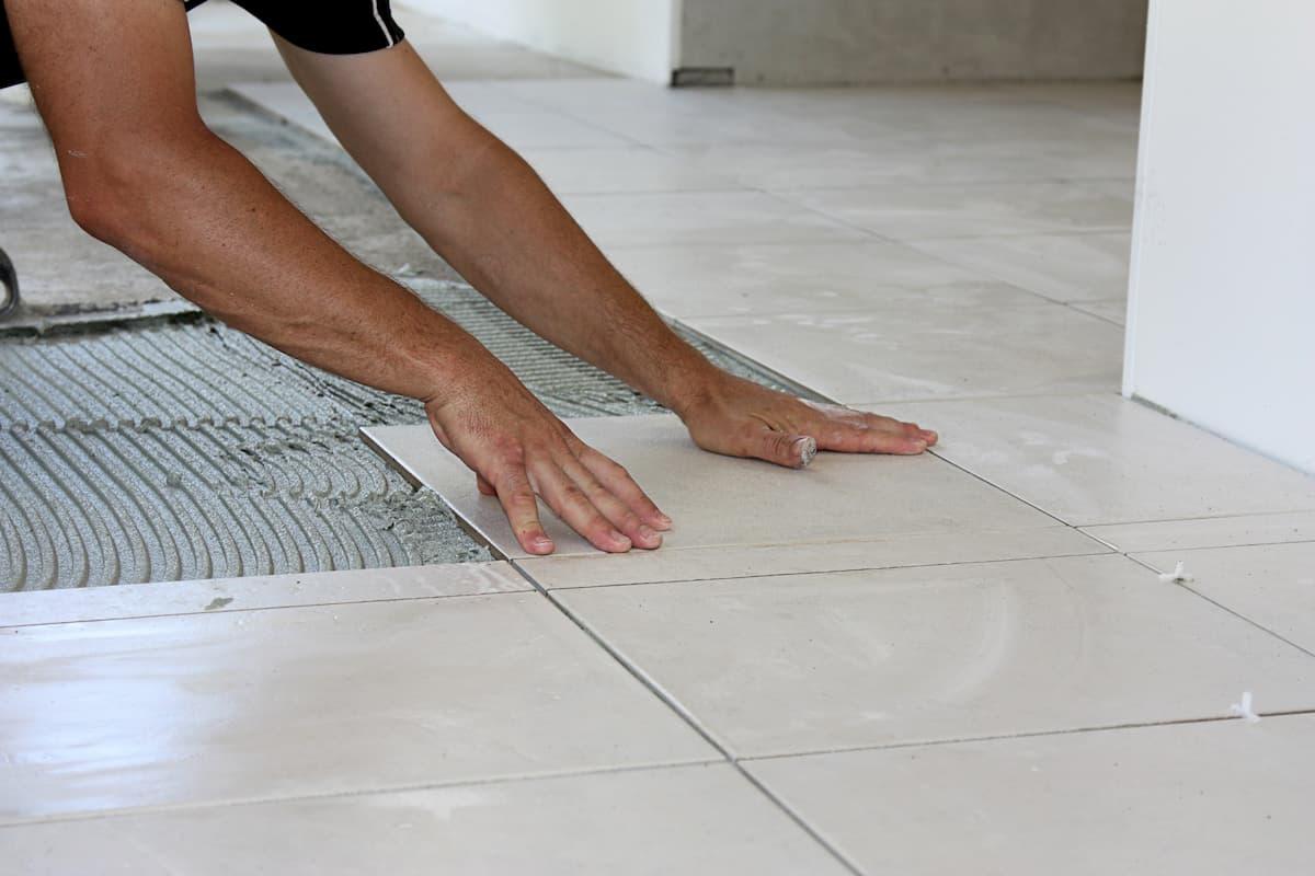Mr. Handyman Princeton tile installation