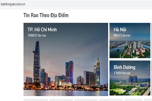 Batdongsan.com.vn luôn là thương hiệu đứng hàng đầu