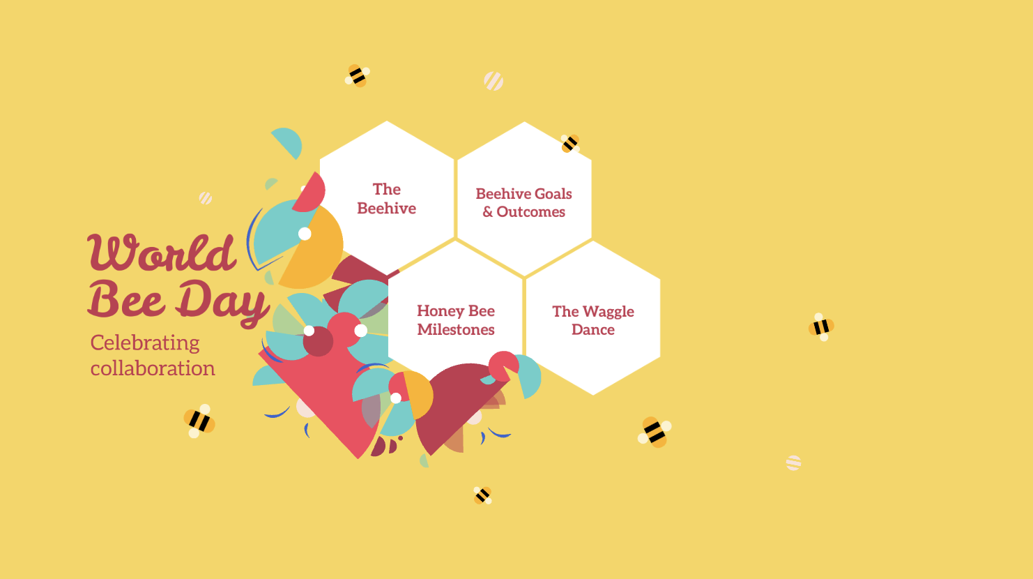 Use the bright visuals and animations in this Prezi presentation for your school projects.