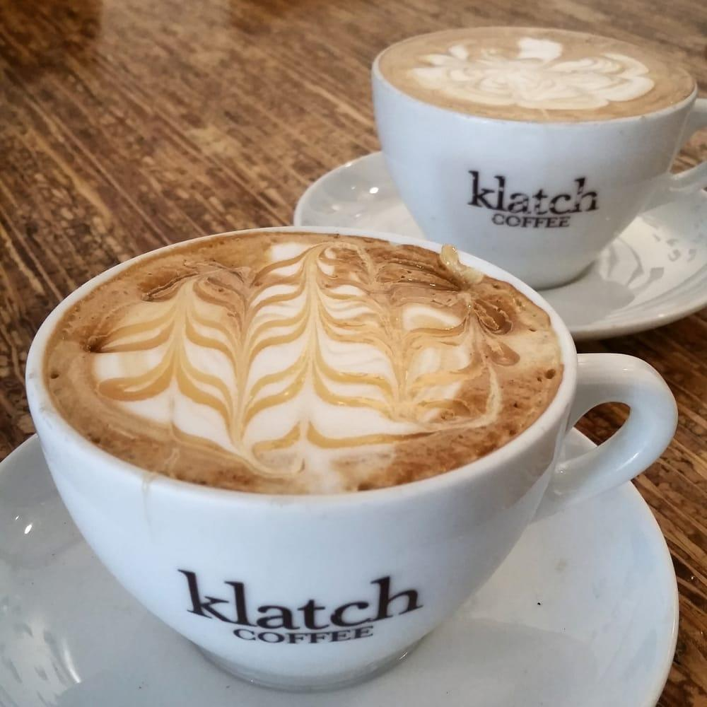 Klatch Coffee Latte