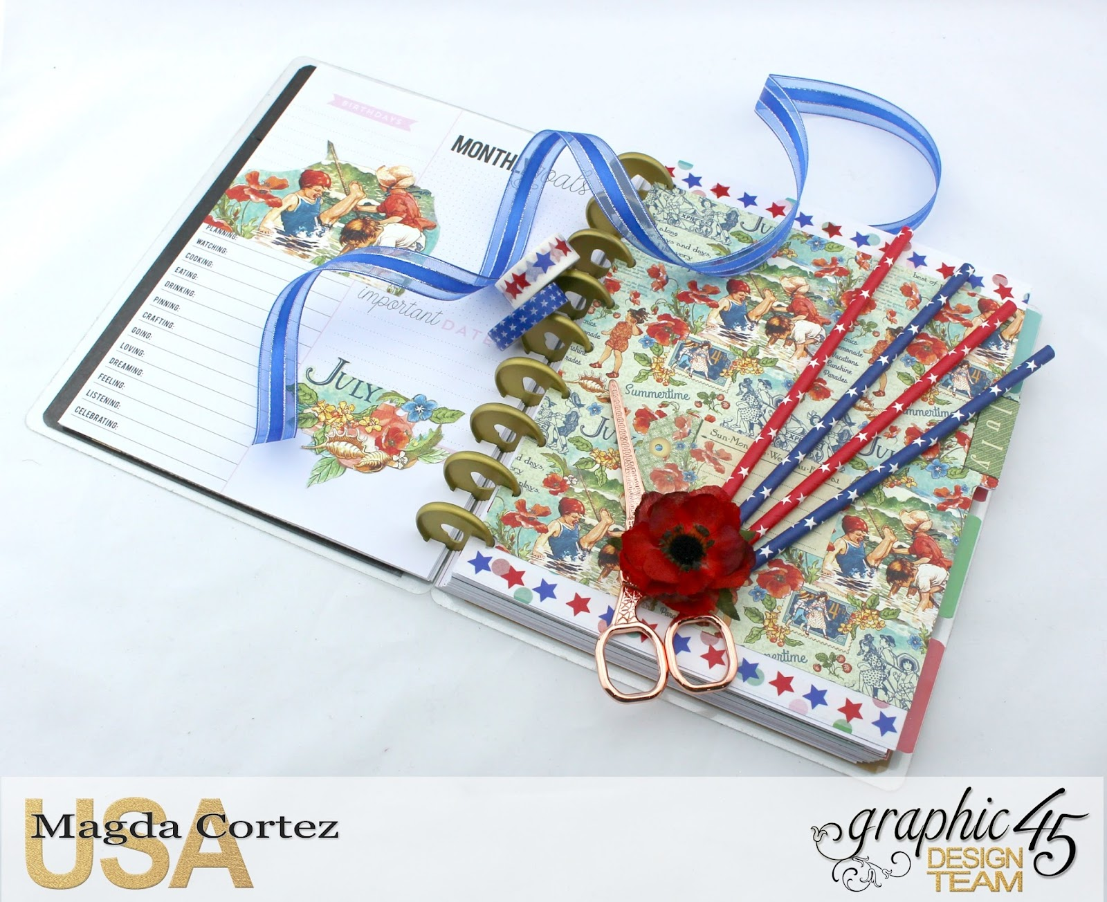 My JULY G45 Planner, Children's Hour By Magda Cortez, Product by G45, Photo 02 of 20 .jpg