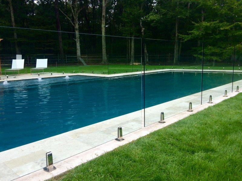 Glass Railings Of Swimming Pool A Perfect Solution To Protect Your