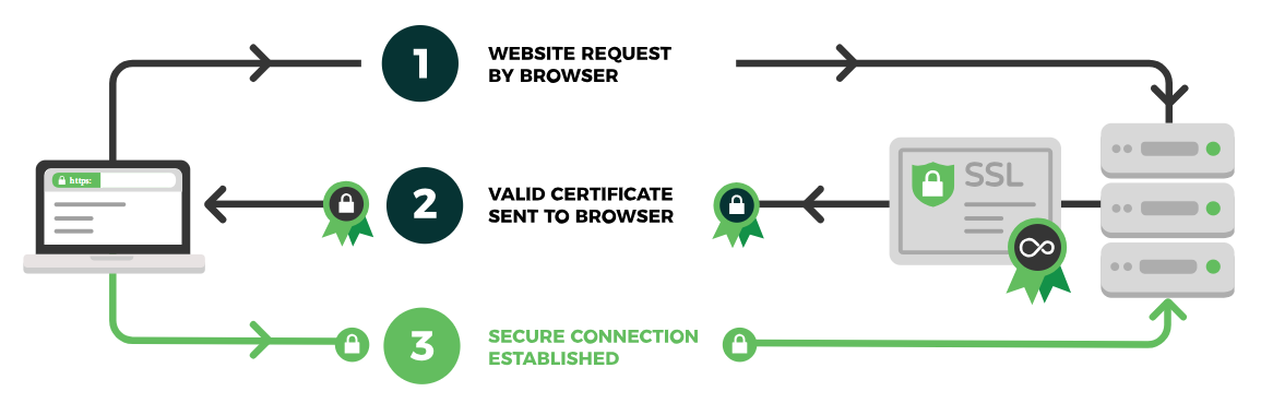 Why your website needs an SSL Certificate with the Green Padlock