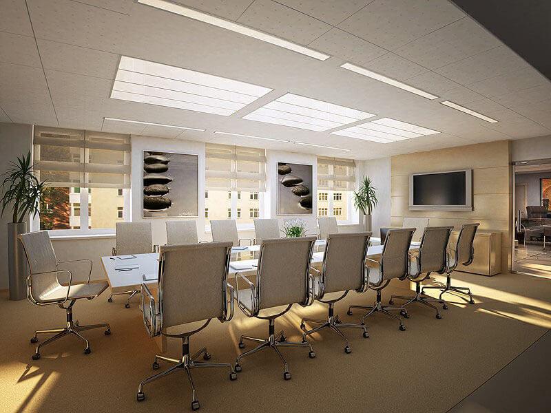 Bổ sung ánh sáng trong thiết kế nội thất văn phòng