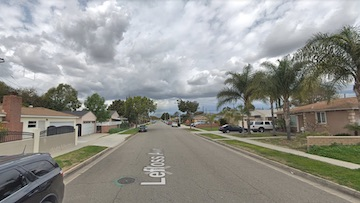 a neighborhood street shown on Google™ Maps™