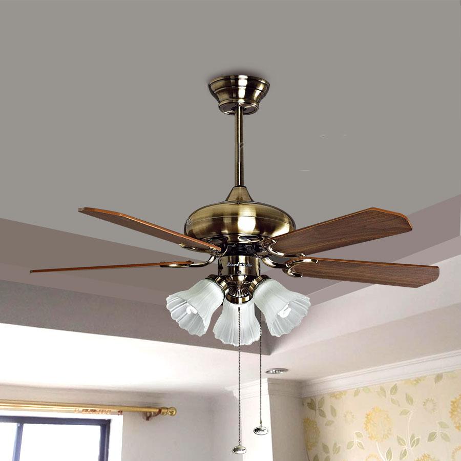 Quạt trần trang trí giúp bạn tiết kiệm điện năng tiêu thụ hiệu quả