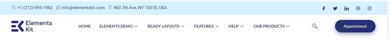 elementor transparent header - ElementsKit - Wpmet