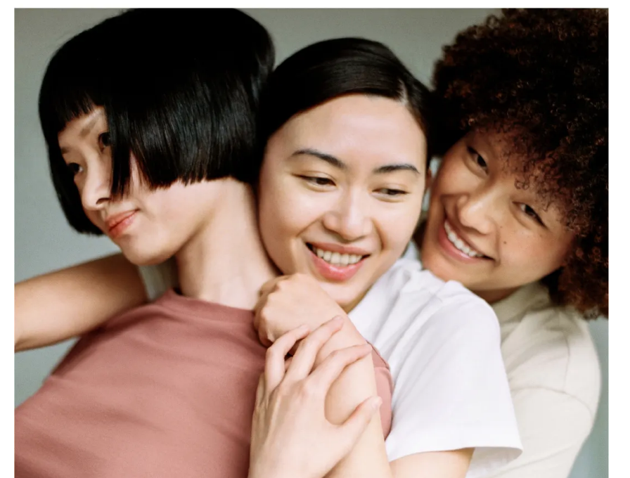 A scene from Neiwai's successful Women's Day marketing campaign