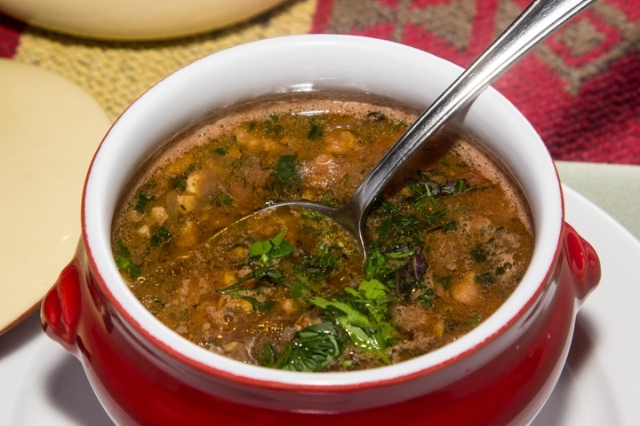 постный суп с фасолью