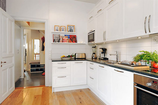 màu sắc nội thất phòng bếp