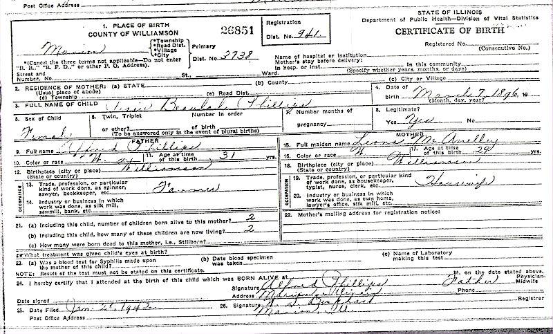 Jessie Beulah Phillips Vaughn birth.jpg