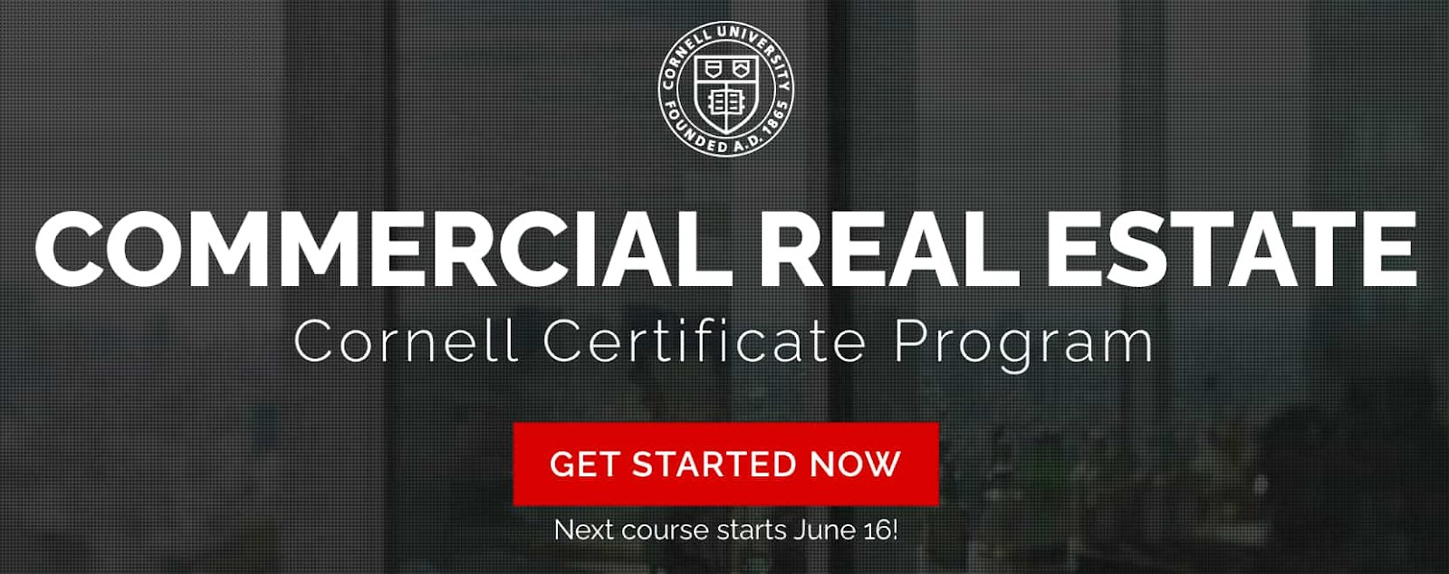 Real Estate Courses Cornell Commercial Real Estate