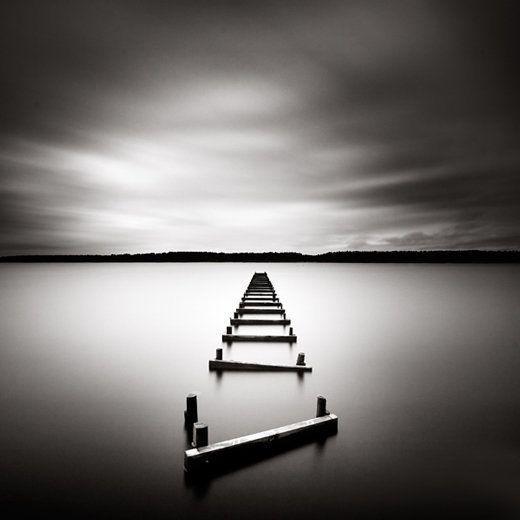 عکس هنری از دریاچه