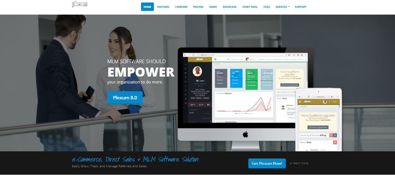MLM software Plexum