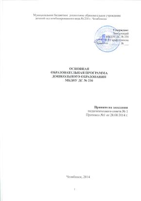 ООП МБДОУ ДС №230.doc