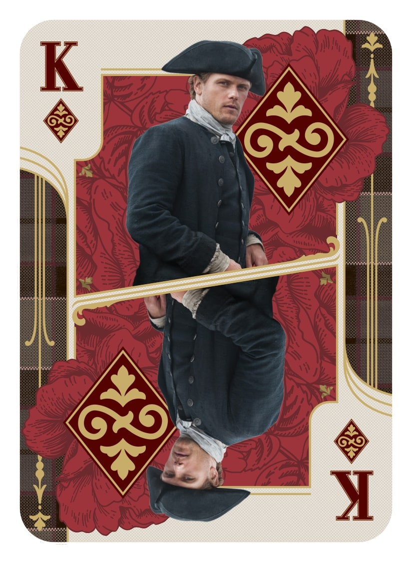 Outlander Trading Cards Season 4: Chase Set - Playing Cards