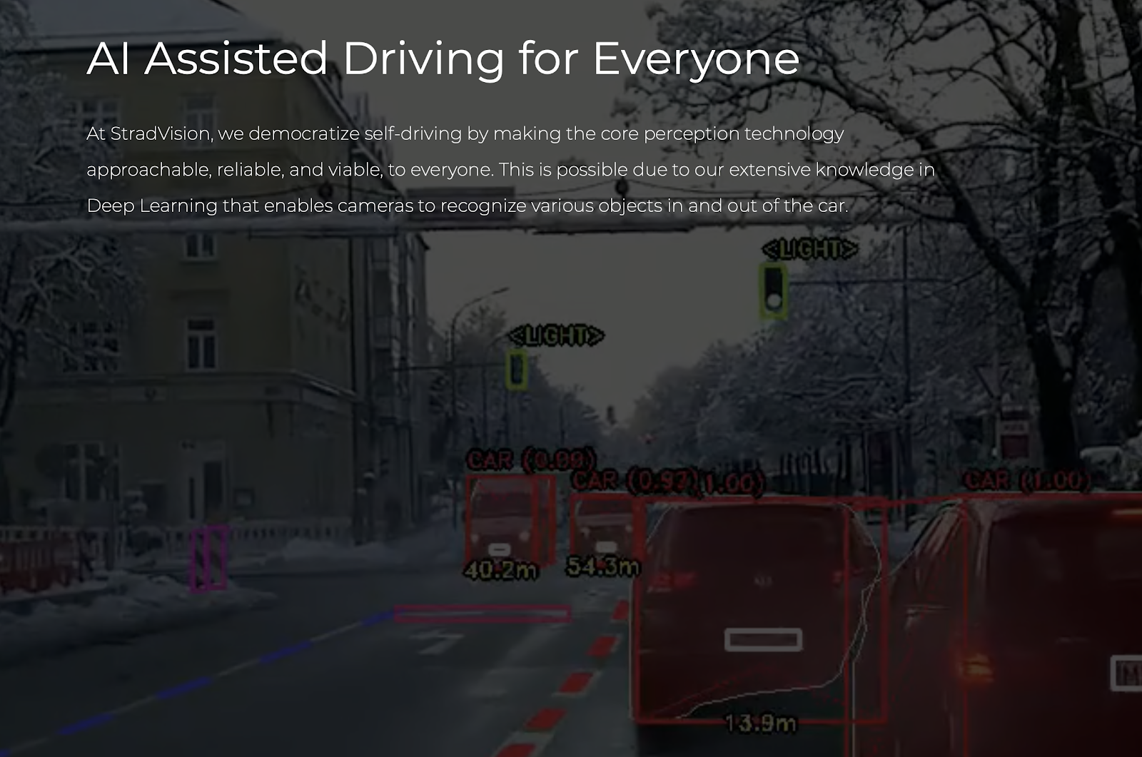 StradVision - AI Assisted Driving For everyone