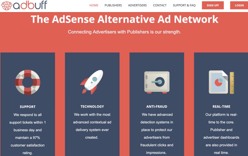 Adbuff AdSense alternative