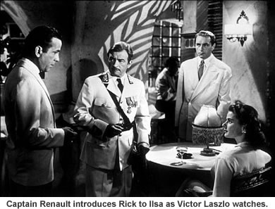 Rick is introduced to Ilsa.