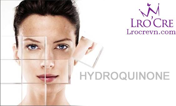 hydroquinone trong kem duong trang da