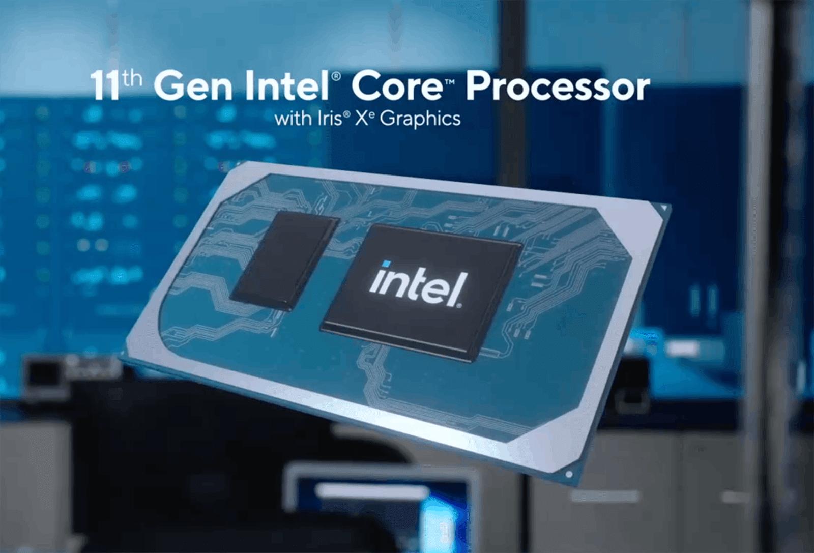 Intel Gen 11th – bước nhảy về hiệu năng đồ họa cho laptop thế hệ mới 11
