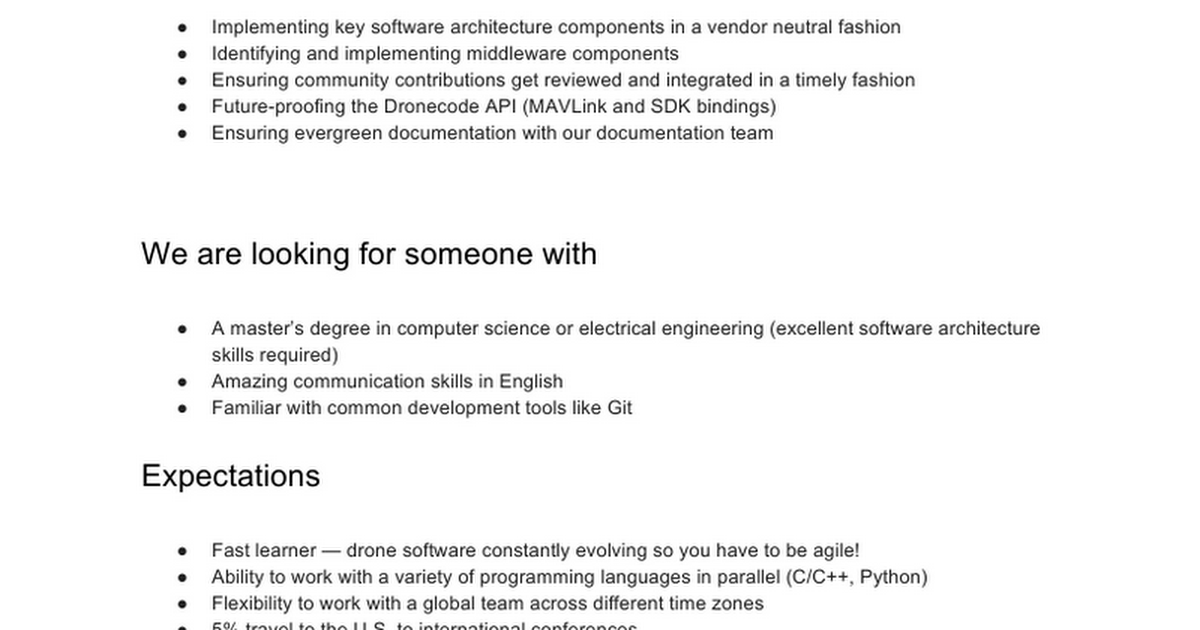 senior architect job description software architect job description - Responsibilities Of A Software Engineer