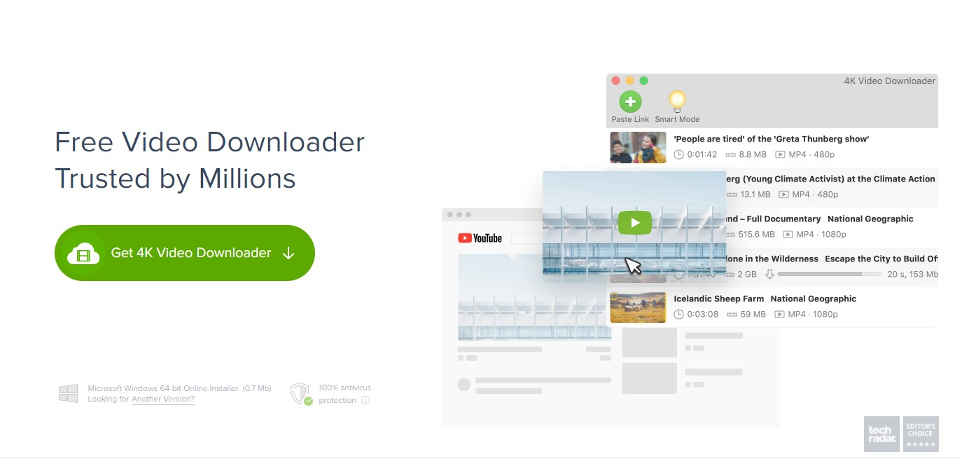 How to save a YouTube video - 4k downloader