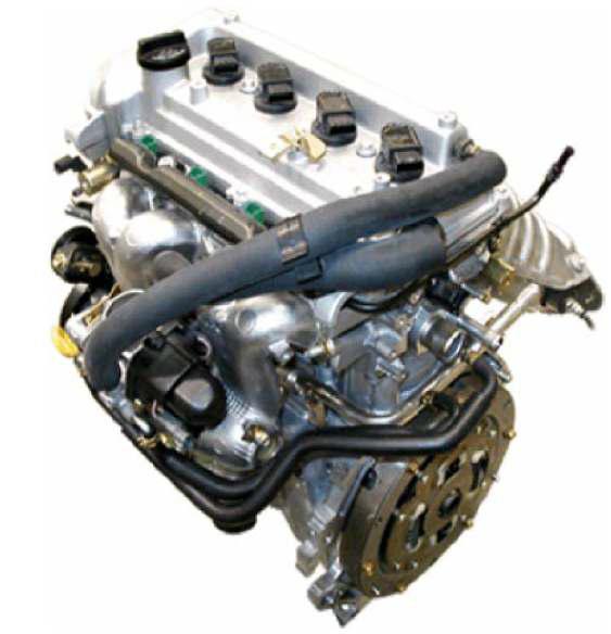 Motor de combustión vehículo híbrido elementos de control