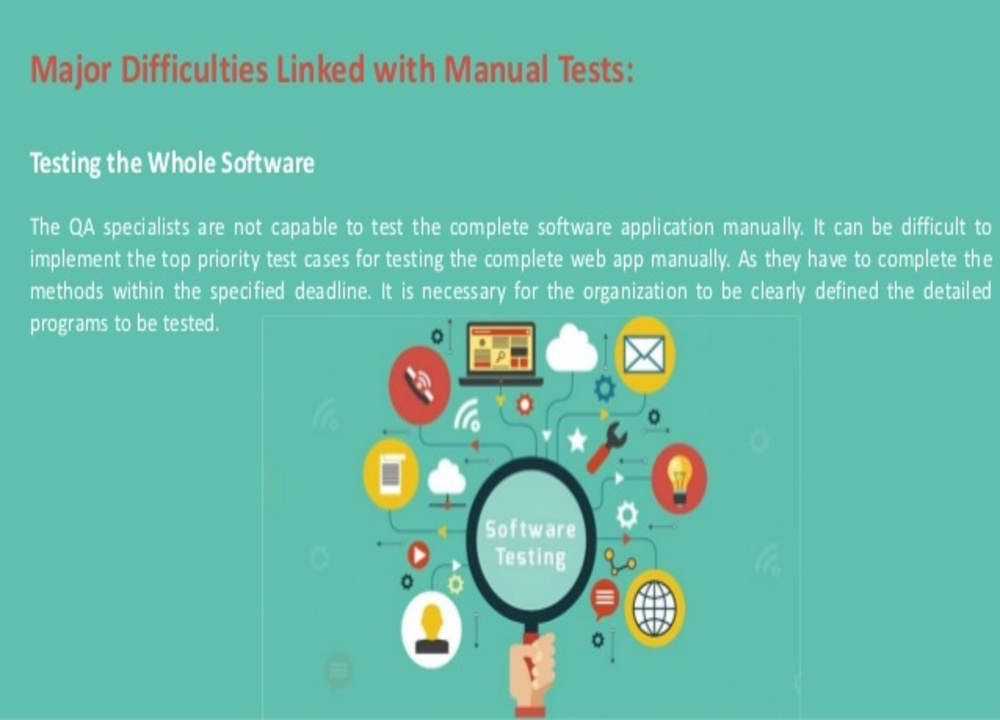 software testing is difficult