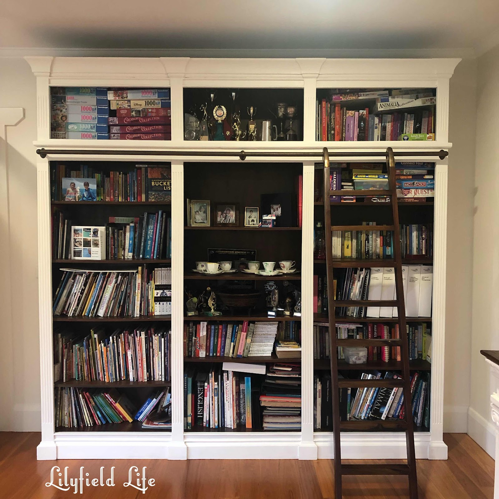 bookcase lilyfield life white paint